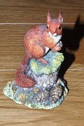 Red Squirrel miniature